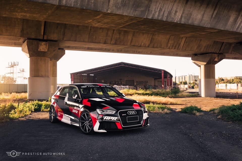 2016 Audi Rs3 Custom Geometric Camo Wrap I M Wrapped